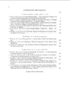 Pamiętnik Literacki Z. 3 (2013), Contents of fascicle