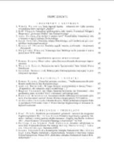 Pamiętnik Literacki Z. 3 (2013), Treść zeszytu