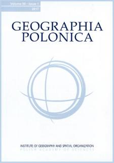 Geographia Polonica Vol. 90 No. 4 (2017), Contents