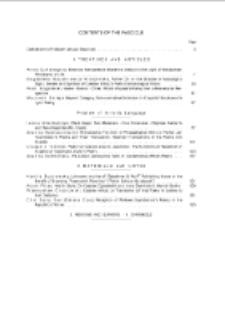 Pamiętnik Literacki, Z. 4 (2014), Contents of fascicle
