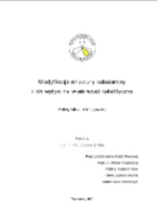 Modyfikacje struktury kobalaminy i ich wpływ na właściwości katalityczne