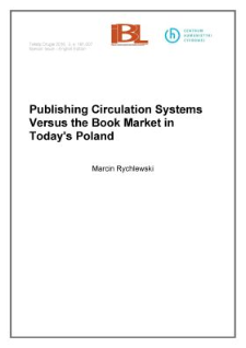 Publishing circulation systems versus the book market in today's Poland