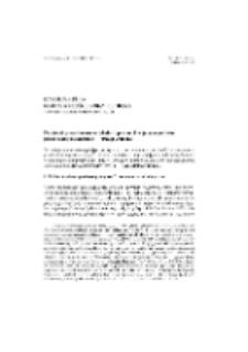 Przyimki przestrzenne w tekstach pisanych w języku polskim przez osoby niesłyszące — uwagi wstępne