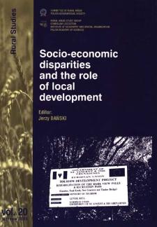 Socio-economic disparities and the role of local development