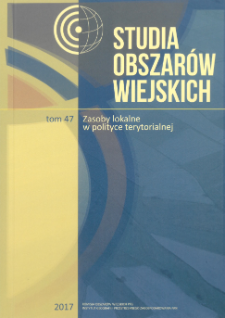 Potencjał społeczno-demograficzny a poziom przedsiębiorczości na obszarach wiejskich Polski = Socio-demographic potential and level of entrepreneurship in the rural areas of Poland