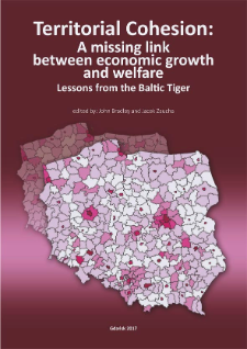 Territorial cohesion : a missing link between economic growth and welfare : lessons from the Baltic Tiger