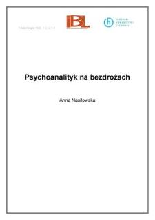 Psychoanalityk na bezdrożach (wstęp)