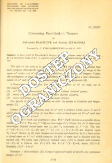 Concerning Parovičenko theorem