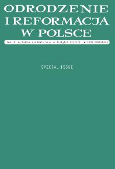 Pietas and Sapientia? Education of Pastors in West Pomeranian Duchies, 1560-1618