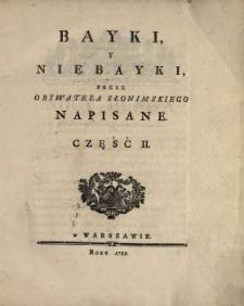 Bayki Y Niebayki. Cz. 2