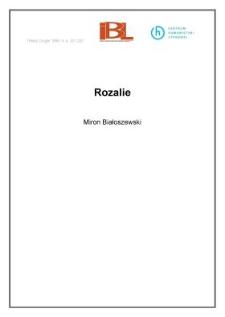 Rozalie