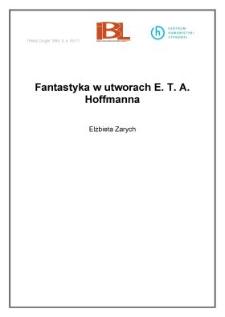 Fantastyka w utworach E. T. A. Hoffmanna
