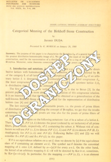 Categorical meaning of the Brikhoff-Stone construction