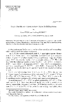 Some results on Carathéodory type multifunctions