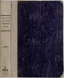 Bulletin de l'Académie Polonaise des Sciences. Classe 3, [Mathématique, Astronomie, Physique, Chimie, Géologie et Géographie].