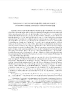 Ogłoszenia w prasie warszawskiej doby stanisławowskiej — świadectwo recepcji zachodnich wzorców konsumpcji