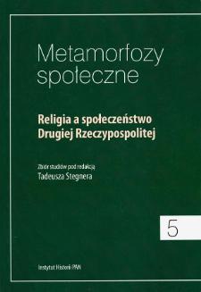 Obrzędowość religijna w filmach fabularnych Drugiej Rzeczypospolitej