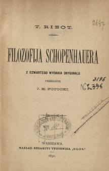 Filozofija Schopenhauera