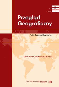 Ewolucja kryteriów delimitacji wielkomiejskich układów osadniczych w Polsce = Evolution of the criteria for delimiting metropolitan settlement systems in Poland