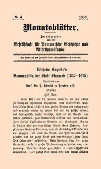 Monatsblätter Jhrg. 13, H. 4 (1899)