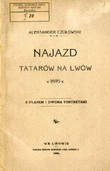 Najazd Tatarów na Lwów w 1695 r.