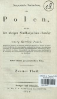 Geognostische Beschreibung von Polen, so wie der übrigen Nordkarpathen-Länder. T. 2