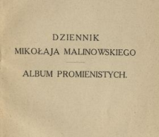 Dziennik Mikołaja Malinowskiego