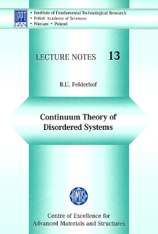 Continuum theory of disordered systems