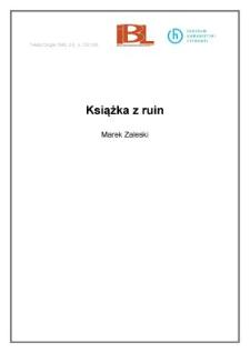 Książka z ruin