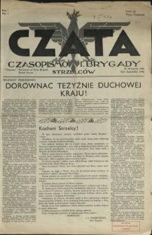 Czata : czasopismo 1. Brygady Strzelców N.1