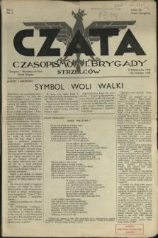Czata : czasopismo 1. Brygady Strzelców N.2