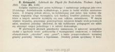 E. Grimsehl: Lehrbuch der Physik für Realschulen
