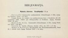 Bibliografja