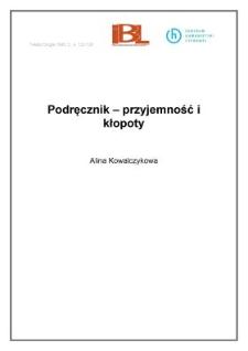 Podręcznik - przyjemność i kłopoty