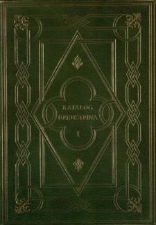 Katalog dzieł treści przysłowiowej składających bibljotekę Ignacego Bernsteina. T. 1, A-M