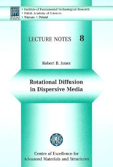 Rotational diffusion in dispersive media