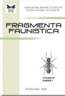Fragmenta Faunistica vol. 61 no. 1 (2018) - contents