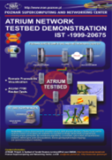 Plakat TESTBED EXPERIMENTATION AND DEMONSTRATION