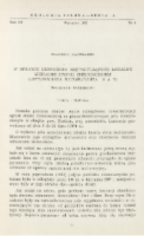 W sprawie czynników kształtujących lokalne migracje stonki ziemniaczanej (Leptinotarsa decemlineata Say) : doniesienie tymczasowe