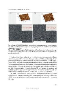 Wpływ zastosowania wysokotemperaturowej warstwy zarodkowej AIL na właściwości GaN osadzonego na podłożach szafirowych = The effect of implementation of high-temperature AlN nucleation layer on properties of GaN grown on sapphire substrates