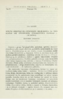 Wpływ niektórych czynników środowiska na tworzenie się hypopusów u Tyroglyphus farinare L. (Acarina) : doniesienie tymczasowe