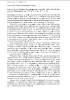 Katarzyna Wojan, Z dziejów leksykografii polsko-rosyjskiej. Tom I: Słowniki lingwistyczne (Bibliografia za lata 1700–2015), Gdańsk 2016, ss. 386 [recenzja]
