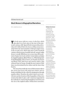 Black Women in Biographical Narratives