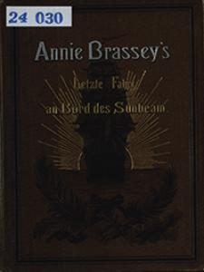 Annie Brasseys letzte Fahrt an Bord des Sunbeam