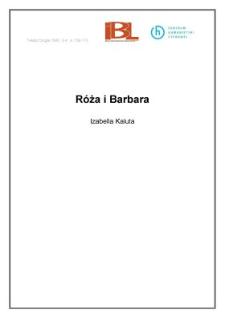 Róża i Barbara