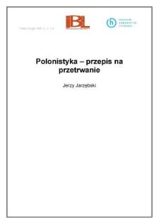 Polonistyka - przepis na przetrwanie (wstęp)
