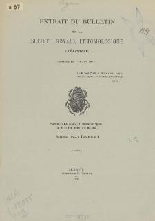 Beitrag zur Kenntnis der Chalicodoma-Arten von Aegypten