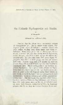 Om Finlands Ptychopteridae och Dixidae
