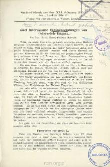 Zwei interessante Carabensendungen von Österreich-Ungarn