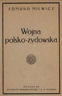 Wojna polsko-żydowska